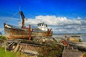 Ireland. Old shipwrecks — Stock Photo