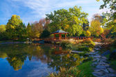 Japanese Garden Wroclaw — Stock Photo