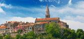 Croatia, Buje. Panorama of the city. — Stock Photo