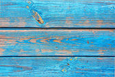 Background of old blue boards. — Stock Photo