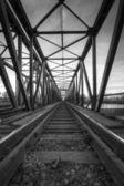 Old railway bridge — Stock Photo