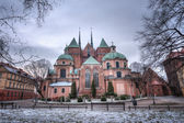 The east elevation of the cathedral. Wroclaw, Poland. — Stock Photo