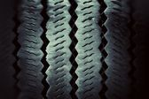 Texture of old tires — Stock Photo