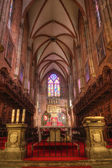 The nave the Cathedral of St. John the Baptist in Wroclaw — Stockfoto