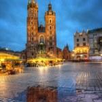 St. Mary's Church in Krakow — Stock Photo #44993201