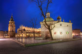 The Main Market Square in Krakow — Stock Photo