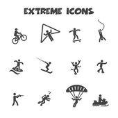 Extreme icons — Wektor stockowy