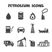 Petroleum icons — Stock Vector