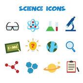 Vetenskap ikoner — Stockvektor