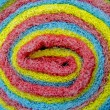 Rolled wash sponge — Foto Stock