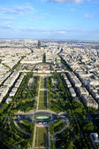 View from eiffel tower — Stock Photo