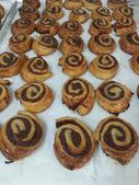 Cake. sweet . desert. cinamon. sugar. diet. tasty. bakery. food. eat. — Stock Photo