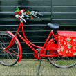 Royalty-Free Stock Photo: Red bicycle.