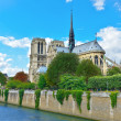 Paris - Notre Dame. — Stock Photo