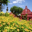 Historic Christ Church malacca, Malaysia - Stock Photo
