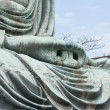 Royalty-Free Stock Photo: Hand close-up of the Daibutsu in Kamakura - Japan