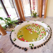 Jacuzzi in spa room thailand — Stock Photo