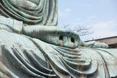 Hand close-up of the Daibutsu in Kamakura - Japan — Stock Photo