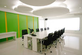 Conference room in office with modern decoration. — Stock Photo