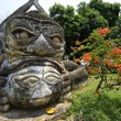Buddha statues at the beautiful and bizarre buddha park in Vientiane, Laos — Stock Photo #19681415