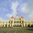 The City Hall of Ho Chi Minh City in Saigon, Vietnam — Stock Photo #19684549