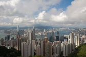 Hong Kong cityscape at noon — Stock Photo