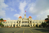 The City Hall of Ho Chi Minh City in Saigon, Vietnam — Stock Photo