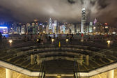 Hongkong city night view — Stock Photo