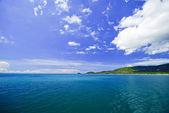 Sea and island on samui Thailand — Stock Photo