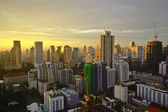Bangkok city on morning — Foto Stock