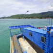 Samui boat port — Stock Photo