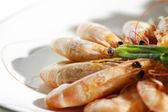креветки гриль — Стоковое фото