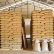 Photo: Coffee beans warehouse