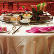 Chinese Asian restaurant set — Stock Photo