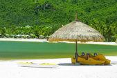 The beach in vietnam sea — Stock Photo
