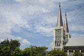 The cathedreal of the immaculate conception, Chanthaburi, Thailand — Stock Photo