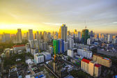 Bangkok city on morning — Stockfoto