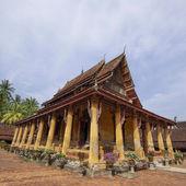 буддийские ват сисакет во вьентьяне, лаос — Стоковое фото