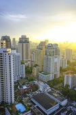 Bangkok city on morning — Stock Photo