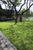 Jardín de la oficina moderna — Foto de Stock