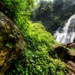 Water fall in spring season located in deep rain forest jungle. — Stock Photo #27240221