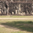 Elephant Sculpture in Angkor Thom. Cambodia — Stock Photo