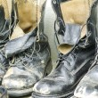 Combat Shoes — Stock Photo