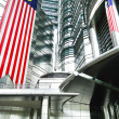 Stock Photo: Close up building petronas Malaysia