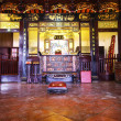 Stock Photo: Chinese Shrine inside