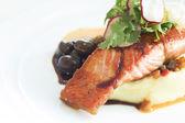 Salmon steak — Foto de Stock