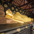 Sleep buddha in Wat Chedi Luang. Chiang Mai — Stock Photo