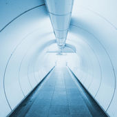 Tunnel the way go out to success business — Stock Photo
