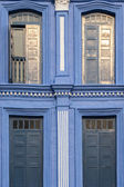 4 Vintage windows — Stockfoto