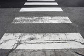 Crosswalk on the road — Stock Photo